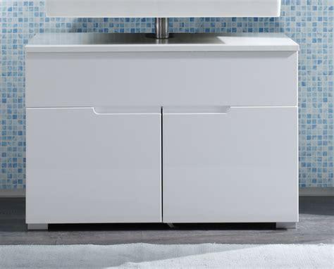 badezimmer unterschrank waschbeckenunterschrank weiss hochglanz badezimmer unterschrank woody 32 00073 ebay