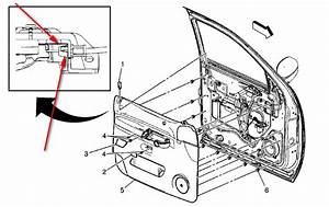 Remove Driver Door Latch Cable From Trim Panel