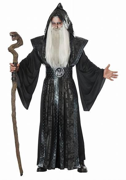 Wizard Costume Dark Mens