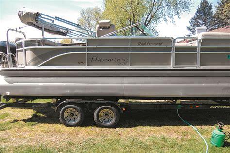 polishing  pontoons pontoon deck boat magazine