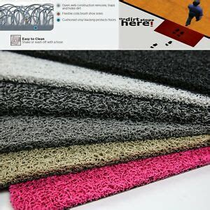 Doormats Made To Measure by Door Mat Runner Grip On Carpet Easy Clean Made To Measure