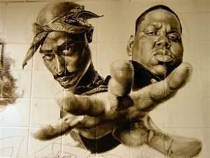 school mural: 2Pac and Biggie by deadhead16mb on DeviantArt