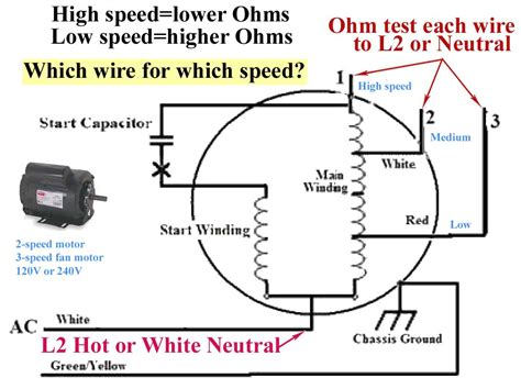Single Phase Electric Motor Wiring Diagram Riding Bike