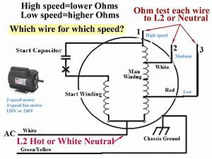 2 Speed Fan Wiring Diagram
