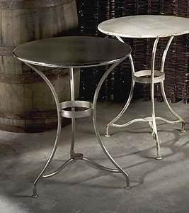 Der Runde Tisch : geniale runde metall bistro tisch der wissenschaft der stil der runde metall bistrotische ~ Yasmunasinghe.com Haus und Dekorationen