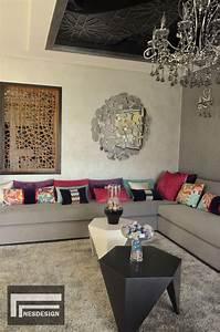 Banquette Marocaine Moderne : salons marocains archives page 6 sur 7 espace deco ~ Dode.kayakingforconservation.com Idées de Décoration