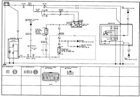 mazda  cooling fan system wiring diagram wiring