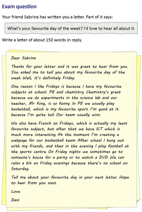 letter to my best friend 2 a letter to a friend learnenglish council