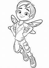Cafe Jasper Coloring Butterbean Butterbeans Printable Fairy Boy Café Babyhouse sketch template