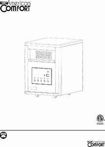 American Comfort Acw0063 Heater Operation  U0026 User U2019s Manual