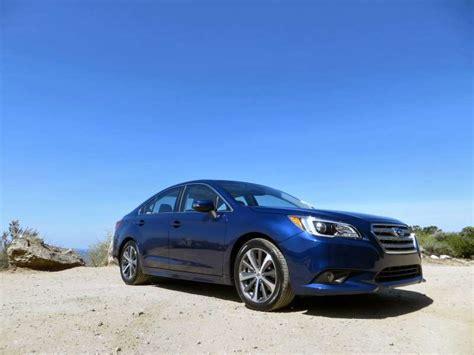 subaru legacy hybrid 2015 subaru legacy mid size sedan first drive autobytel com