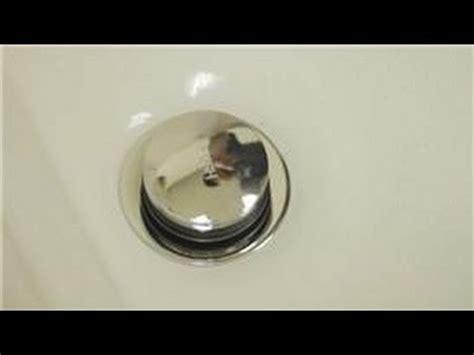 bathroom repair   repair  pop  tub drain stopper