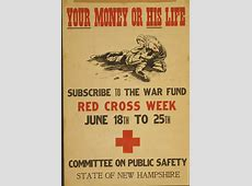 Red Cross WWI Propaganda Your Money or His Life