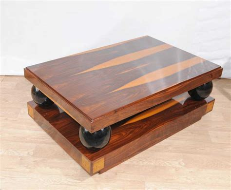 Art Deco Coffee Table Cocktail Tables Rosewood Furniture