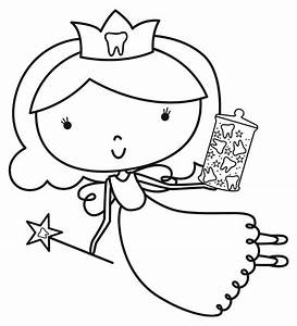 Tooth Fairy Coloring Pages Coloring Pages