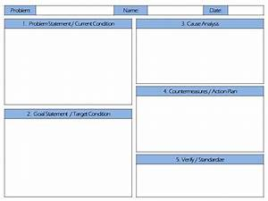 free download problem solving a3 report template teach With a3 process improvement template
