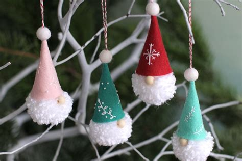 diy gnome ornaments holiday inspiration hoosier homemade