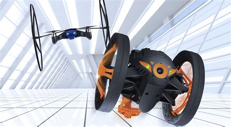 ces  parrot jumping sumo  minidrone set  invade  home  year extremetech