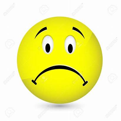 Sad Mood Face Faces Clipart Smiley Unhappy