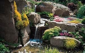 Plantes Vivaces Autour D Un Bassin : 1001 id es et conseils pour am nager une rocaille fleurie charmante ~ Melissatoandfro.com Idées de Décoration