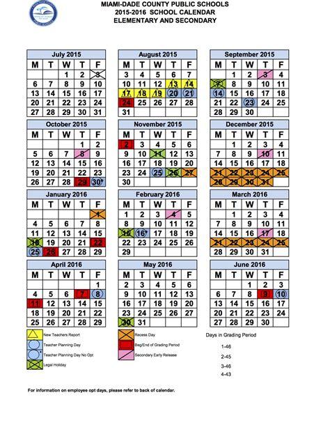 miami dade public school calendar myideasbedroomcom