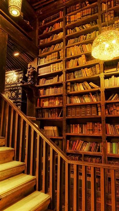 Library Books Wallpapers Desktop Awesome Background Ipad