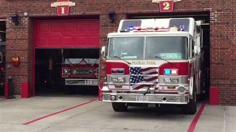 Fire Truck Retrofitted W/ Feniex Led Lights