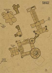 2nd floor by hogwarts castle on deviantart With map of hogwarts castle all floors
