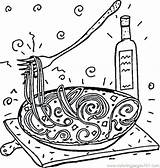 Italy Coloring Pages Italian Spaghetti Colouring Printable Colour Caesar Julius Getcolorings Popular sketch template