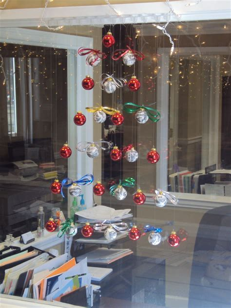 hanging christmas tree made of balls christmas trees
