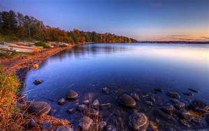 Beautiful, Autumn, Wonderland, Lake, Beautiful, Scenery, And, Pleasant, Wallpaper, 375195, Wallpapers13, Com