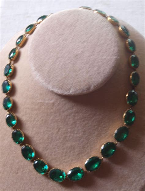 Rare Georgian Paste Riviere Necklace In Emerald Green From. Cute Gold Gold Jewellery. Suryudu Chandrudu Gold Jewellery. Head Indian Gold Jewellery. Gold Afghanistan Gold Jewellery. Matte Finishing Gold Jewellery. Mohan Gold Jewellery. Total Gold Gold Jewellery. Kashi Gold Jewellery