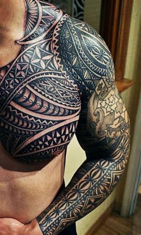 black  grey celtic tattoo  man chest  sleeve