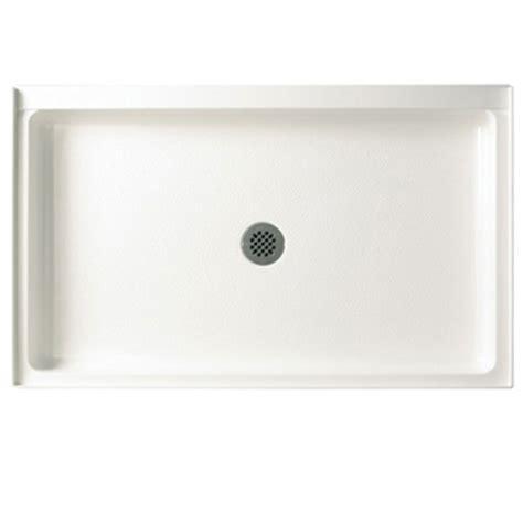 Swanstone R 3454 010 Single Threshold Shower Floor   White