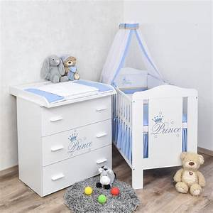 Babybett Und Wickelkommode : babyzimmer prinz babybett wickelkommode bettw sche set komplettzimmer ebay ~ Watch28wear.com Haus und Dekorationen