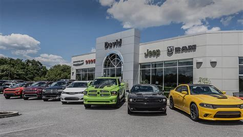 David Chrysler Jeep by David Dodge Chrysler Dodge Jeep Ram Dealer In Chadds