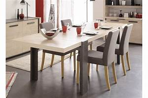 Table Manger Extensible Style Industriel