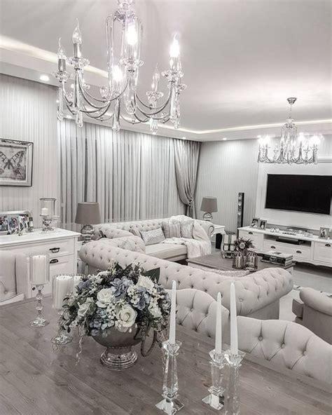 Silber Wohnzimmer by Silber Vintage Shabby Chic In 2019 Wohnzimer Haus