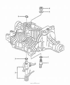 Husqvarna Tuff Torq K61 Transaxle Parts Diagram For N