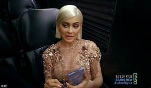 Kylie Jenner shows Met Gala preparation on E! reality show
