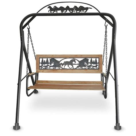 weston collection 174 swing 149385 patio furniture at
