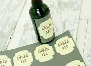 Beer bottle labels worldlabel for Beer bottle label size