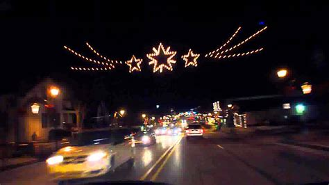 12 24 11 frankenmuth christmas lights youtube