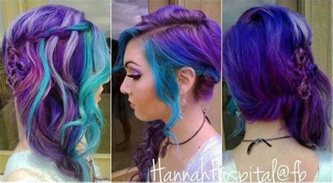 Hannah Hospital Perfect Purple And Blue Hair Could Be