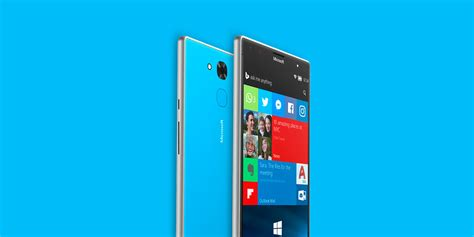 windows phone windows mobile windows 10 mobile update and new lumia phone imagined in