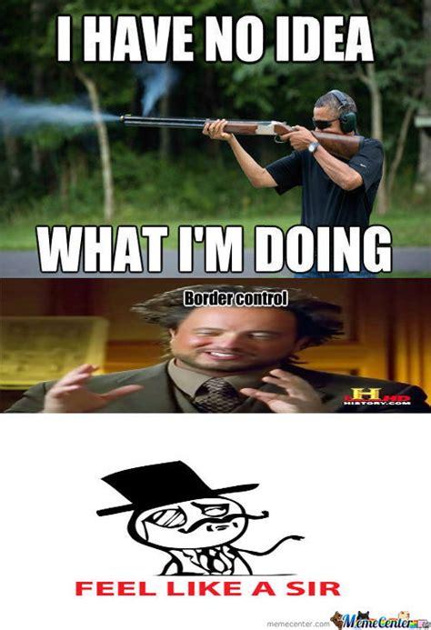 Obama Shooting Meme - rmx obama skeet shooting photo by supernyantrollface meme center