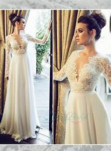Jol222 sexy backless see through lace top long sleeves for Long sleeve lace top wedding dress