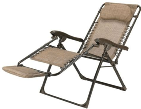zero gravity lawn chair canada canadian tire deluxe zero gravity chair for 39 99