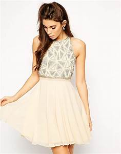asos robe patineuse avec top court fantaisie asos With robe forme patineuse