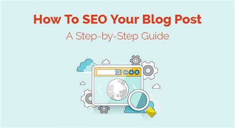 seo search engine optimization step by step how to seo your post step by step guide